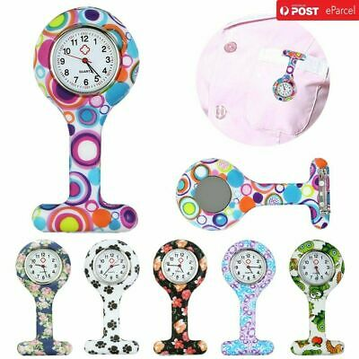 Free Shipping Silicone Nurse Watch Brooch Tunic Fob Nursing Nurses Pendant Clip