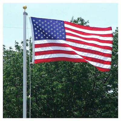 3x5ft American Flag w/ Grommets For Pole ~ United States Of America ~ USA US Iy