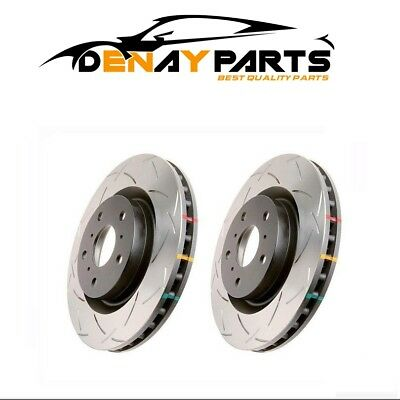 C6-42994S DBA 4000 Series Slotted Front Rotors for 97-04 Corvette C5