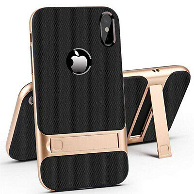 Stand Heavy Duty Slim Phone Case Cover For Apple iPhone XR XS Max X 8 7 6 Plus