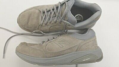d17ad02be13b4 New Balance 928 Gray Leather Comfort Walking Shoes MW928GR Mens 10.5 M  NearlyNew
