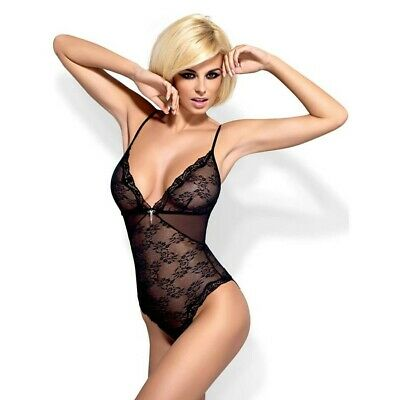 TUTINA BODY SEXY Charms teddy black S/M