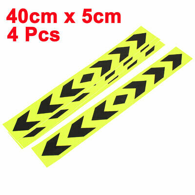 4pcs Reflective Self Adhesive Warning Tape Strip Sticker Decal 40 x 5cm for Car