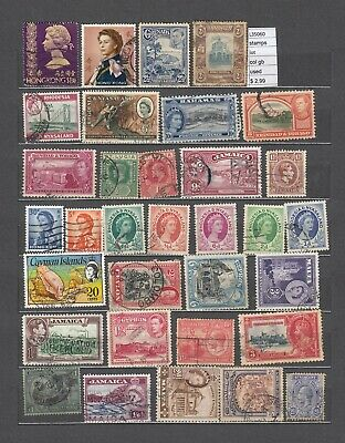 Stamps Lot British Colonies  Used  (L35060)