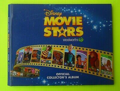 Woolworths Disney Movie Stars Card Set And Album In Good Condition