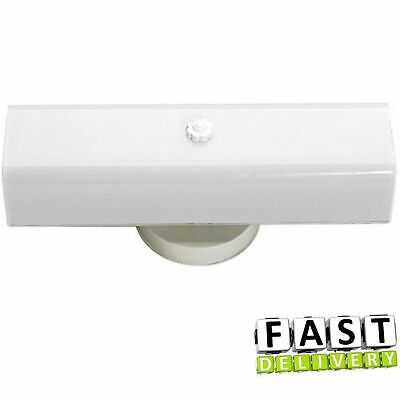 2 Bulb Bathroom Vanity Light Fixture Wall Mount With Plug In Outlet