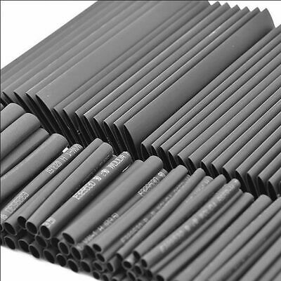 127Pcs Gaine Thermo Rétractable Ratio:2:1 Thermodurcissable Tuyau Assortiment