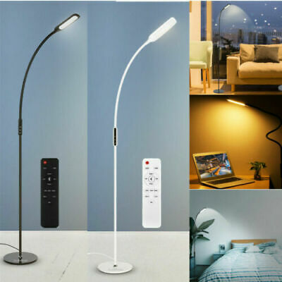 Dimmable Remote Control Floor Standing Light LED Reading Lamp Adjustable Craft