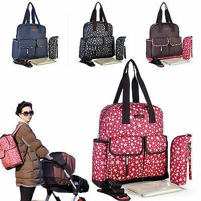 Mummy Mother Diaper Nappy Backpack Multifunctional Bag Water Proof Baby Changing