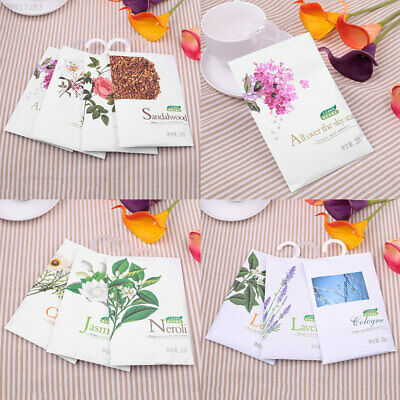 B4F3 Natural Smell Incense Wardrobe Air Refresher Scent Sachet Air Purification