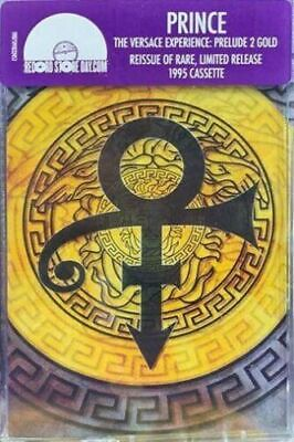 PRINCE - The Versace Experience - Prelude 2 Gold Cassette RSD 2019 NEW!