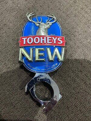 Tooheys New Beer Tap Decal And Mount Badge Top Handle Topper