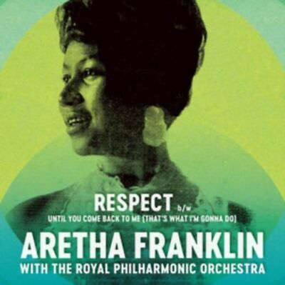 "Aretha Franklin ‎– Respect 7"" Vinyl Single 2017 BLACK FRIDAY NEW!"