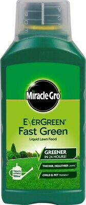 Miracle-Gro Evergreen Fast Grass Liquid Lawn Food 1L Concentrate