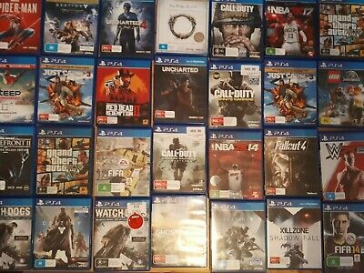 PS4 Games Dirt Cheap