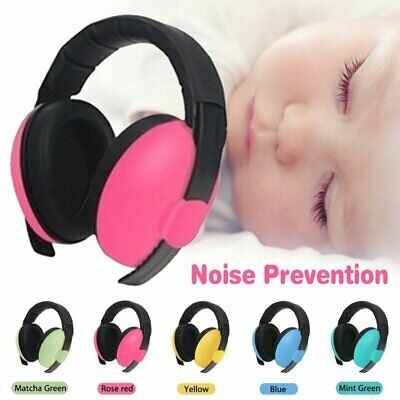 Adjustable Baby Ear Muffs Noise Cancelling Earmuffs Soft Cup Kids Babies Infant