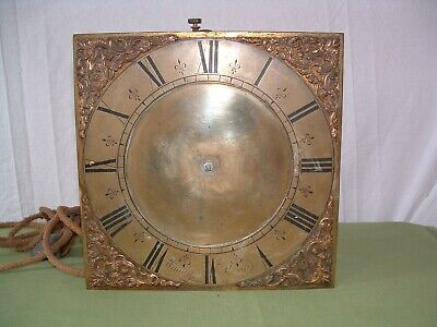 Longcase clock movement Kemp of Lewis 30hr. birdcage single hand original A/F