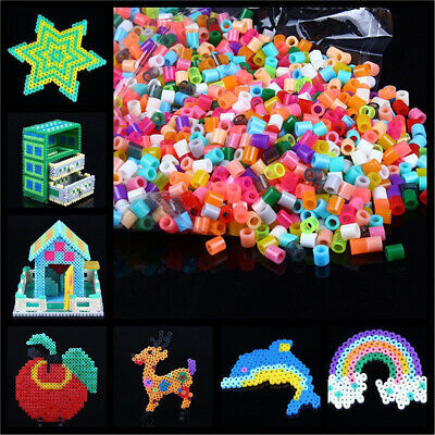 1000Pcs 5mm Perler Beads Colorful Hama Beads DIY Educational Toys Kid Gift Apt