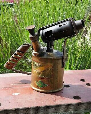 Vintage Paraffin Blow Torch Bladon B 50 Paraffin Blow Lamp Collectable Old Tools