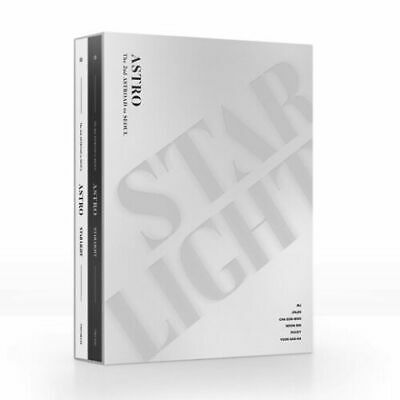 ASTRO The 2nd ASTROAD To Seoul STAR LIGHT 2DVD+Photobook+Poster+Gift KPOP SEALED