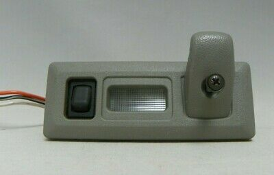 1993 Caprice Classic LH  Rear Roof Rail Courtesy Lamps & Coat Hooks Gray