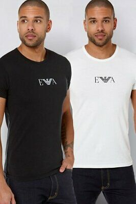 EA7 Emporio Armani T-Shirt Top Short sleeve Crew Neck PACK OF 2 Size XL BNWT  B5
