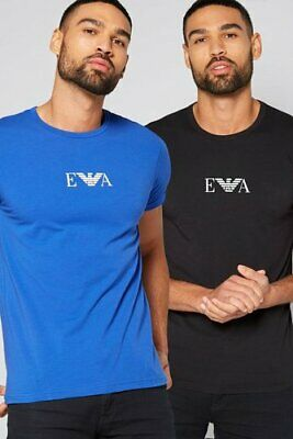 EA7 Emporio Armani T-Shirt Top Short sleeve Crew Neck PACK OF 2 Size L BNWT  B5