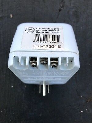 Elk TRG2440 24VAC, 40 VA AC Transformer with PTC Fuse White 1