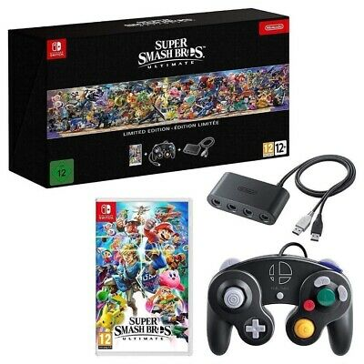 Super Smash Bros. Ultimate - Limited Edition - Nintendo Switch - NEU & OVP