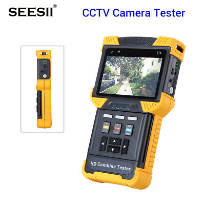 DT-T70 HD 1080P IP CCTV Camera Tester Combine Security Monitor 4 Inch TDR ONVIF