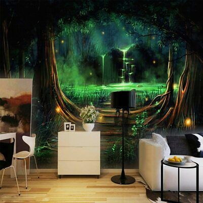 Enchanted Forest Wall Mural Wallpaper Ws 42486 35 97