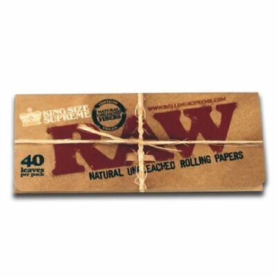 SALE Lot Of 12 Packs X RAW Classic King Size SUPREME Rolling Papers Smoking Weed