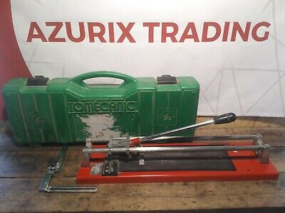 Tomecanic Tile Cutter Cut 400 Manual in Case Good Condition mitre scribe