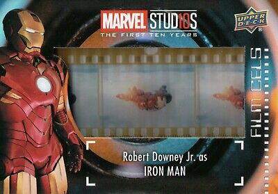 Marvel The First Ten (10) Years, Robert Downey Jr 'Iron Man' Film Cell Card FC-2