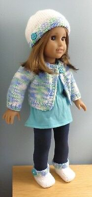 Digital version -18 in doll knitting pattern -American Girl, Our Generation 1815