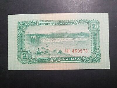 North Vietnam 2 hao 1958