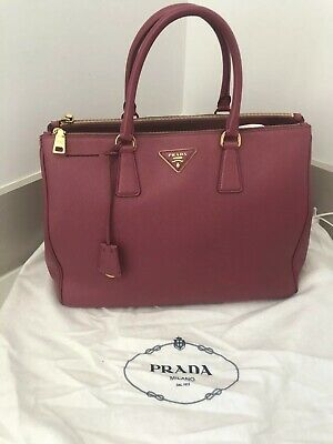 0e0ad9ff0aedcb PRADA GALLERIA SAFFIANO Large Leather Tote Bag Pink (Originally ...