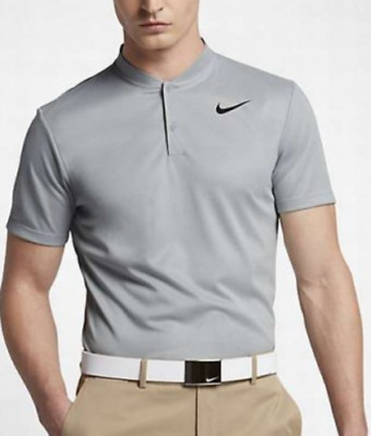 d794b6609 Nike Golf Blade Collar Modern Fit Gray Polo Shirt 850698 Men s Sz 2XL - NWT   70
