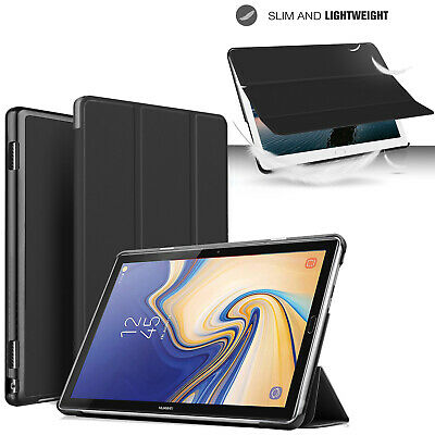 For Samsung Galaxy Tab A6 10.1 T580 T585 Case Slim Smart Leather Stand Cover