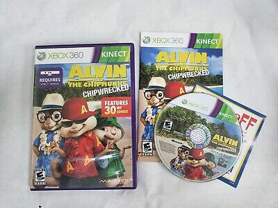 ALVIN AND THE Chipmunks: Chipwrecked Xbox 360 - Kinect *New