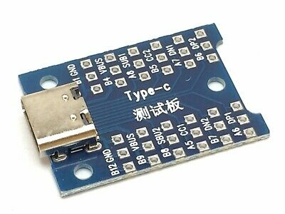 USB 3.1 Typ-C Buchse Adapter Platine | Type-C Breakout Board