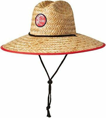 d7c773b0 ONEILL MENS SONOMA Straw Lifeguard Hat Natural One Size Beach Sun ...