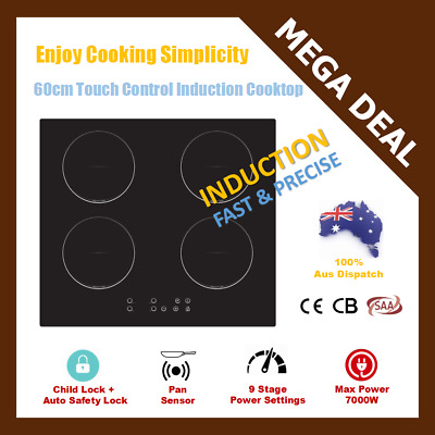 New 60cm SCHOTT CERAMIC GLASS TOUCH CONTROL ELECTRIC INDUCTION COOKTOP / COOKER
