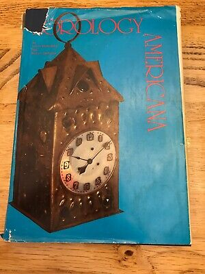 Horology Americana Book By Lester Dworetsky and Robert Dickstein.