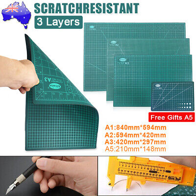A1 A2 A3 Large Thick Self Healing Cutting Mat Double Side Art Craft DIY New
