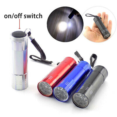 1X mini LED Flashlight Torch flash Lamps light Portable Pocket Keychain penlight