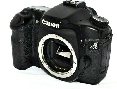 Canon EOS 40D 10.1MP DSLR Camera + 16GB CF with Extras from JAPAN