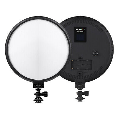 Viltrox VL-500T LED Slim LCD Bi-Color Dimmable Adjustable Studio Light Lamp DSLR