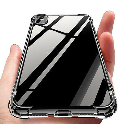 For iPhone X Xs Max 8 7 6S Plus Clear Case Cover silicon Shock proof Tough