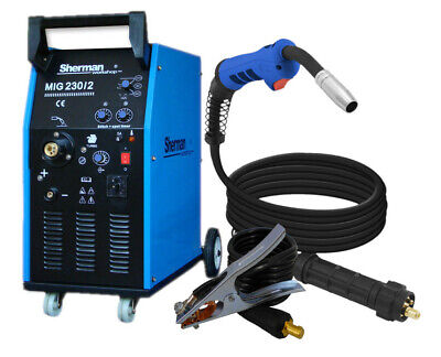 Sherman 230/2 MIG MAG Welder Machine Transformer 190 Amp 230V 2x400V